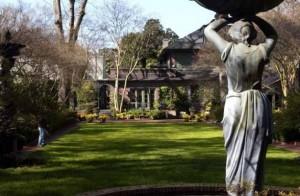 Biedenharn Gardens and Museum.