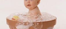 Summer skin care for baby