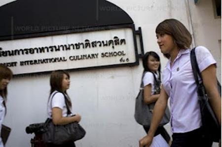 Transgender University in Bangkok Thailand