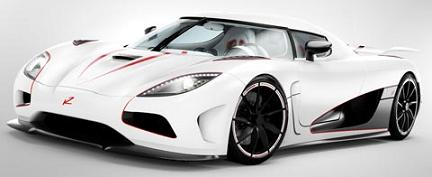 Rated Number 3 Equal -  Most Expensive Car 2012 - 2013