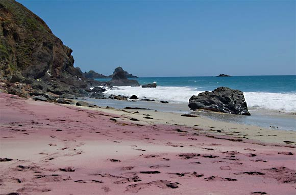 Pink Sand Beach California The Best Beaches In World
