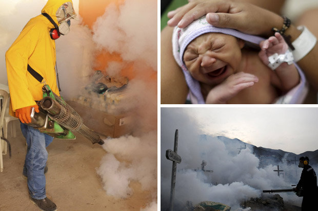 People suffering from Zika Virus